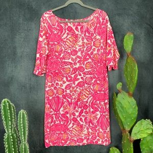 🌵Lilly Pulitzer Camie Dress Sailor's Valentine M